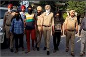 vicious robbers of haryana arrested in khanna