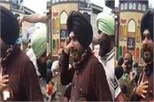 sidhu protest against agriculture ordinance bill