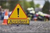 3 seriously injured in car and motorcycle collision