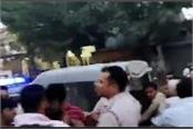 during checking youths scuffle with police live video surfaced