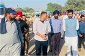 surprise inspection of barnala bus stand