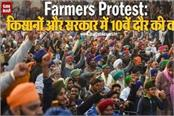 10th round of talks between farmers and government today