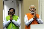 pm modi spoke to union minister shripad naik over phone