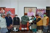 chief minister rawat provided support for construction of ram temple