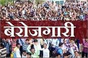 haryana is moving towards unemployment every third youth is unemployed