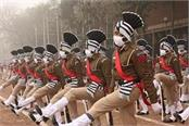 full dress rehearsal at parade ground