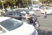 police changed traffic route on republic day