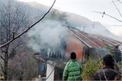 fire in house in banjar