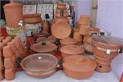 odop scheme exhibition of unsurpassed earthen goods district of u p