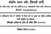 notification released for recruitment of 2380 firemen in bihar