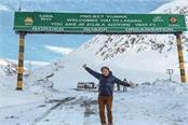 wangchuk engaged in making 14 km long snow tunnel on zojila