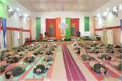 art of living will teach bsf soldiers to relieve stress