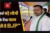 tejashwi told bjp badka jhutha party