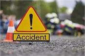girl child dies in horrific road accident two injured including father