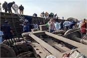 train derailed in egypt 11 people killed 98 injured