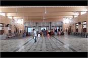 special preparations for navratri seen in shri durga temple