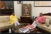 dhankar praised tomar on issues of farmer interest