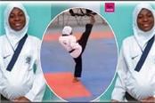 8 months pregnant athlete won gold medal in taekwondo