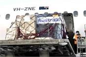 indians in australia send huge amount of medical supplies to india