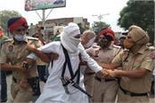 mini lockdown police detain many protesters protesting