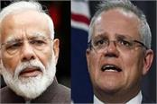 pm modi talks to australian prime minister discussion on corona epidemic