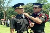 rahaul thapa become lieutenant