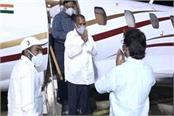 education minister brought to ranchi by special plane