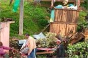 hurricane wreaked havoc in himachal orange alert for two days