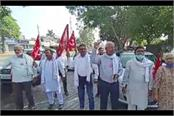 farmers stood against agricultural laws