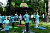 indian embassy in the us to mark the international day of yoga