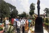 tribute paid to brigadier rajinder singh