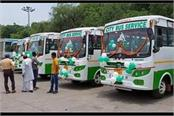corporation s 32 seater 5 eco friendly mini buses will run on city roads