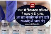 vaccination campaign has gained momentum in india