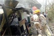 monk burnt alive due to fire in the hut