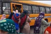 women of haryana also left for delhi