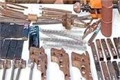 exploitation of illegally operated mini gun factory in bhagalpur