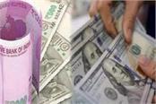 rupee falls 76 paise below 74 per dollar