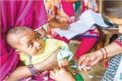 india lags behind in basic immunization of children