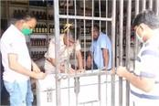 raid on two contracts for illegal sale of liquor