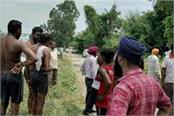 innova car fell in bhakra canal search for two people continues