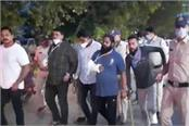 indore police s miscreants took out procession