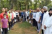 cleanliness campaign on 6th anniversary of late swadesh chopra