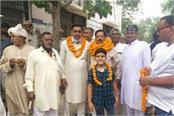 bjp s ramesh popli became the vice chairman of siwani municipality