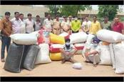 truck driver and cleaner carrying intoxicants arrested