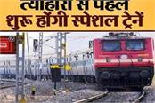 western railway will run special train in view of festivals