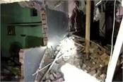 big accident in agra building collapsed during birthday party