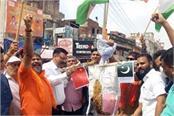 indo tibetan cooperation forum burns effigies of china pakistan