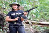 myanmar beauty queen takes up arms against army