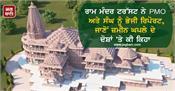 ram mandir trust sends report to pmo and rss