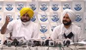 bhagwant mann  congress  resigns